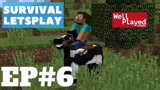 Minecraft Survival Letsplay Ep5 Horses and nether wart!