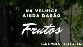 NA VELHICE AINDA DARÃO FRUTOS | REV. AMAURI OLIVEIRA | SALMOS 92:13-14