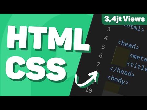 Belajar HTML & CSS Untuk PEMULA - Full Lengkap