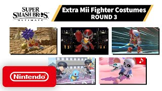 Download Super Smash Bros. Ultimate - Mii Fighter Costumes #3 - Nintendo Switch Mp3 and Videos