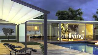 Outdoor Sun Protection - Pergola Roof System