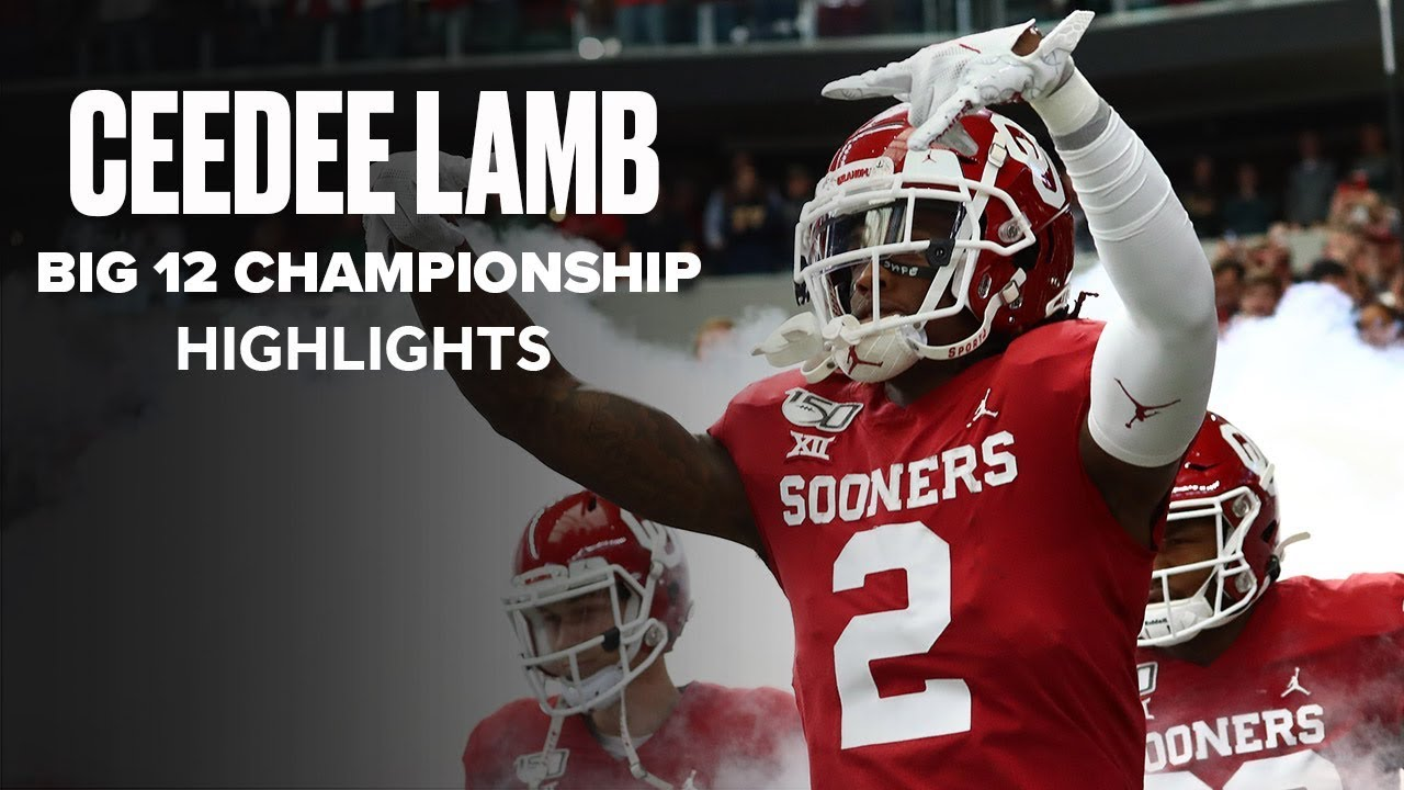 CeeDee Lamb Explodes For 8 Catches, 173 Yards In Big 12 Championship Game