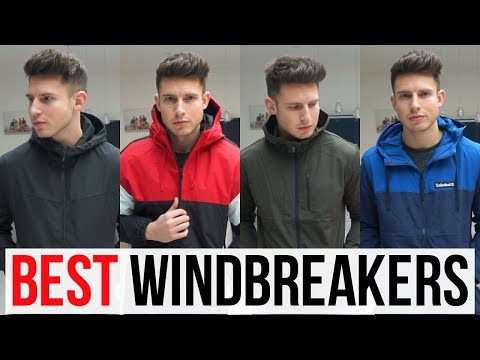 BEST WINDBREAKER JACKETS FOR MEN IN 2019 (Calvin Klein, Timberland, Pull & Bear..)