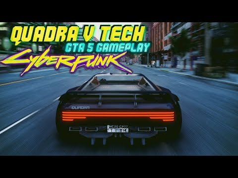 GTA 5 - Quadra V-Tech | Cyberpunk 2077