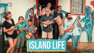 Remote Island Life & Ukulele With The Locals