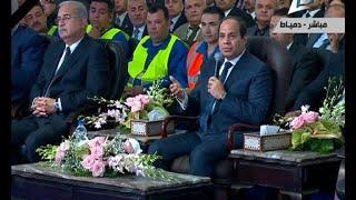 """بالفيديو.. علاء حيدر: زيارة السيسى لدمياط خطوة في طريق دعم """"صنع في مصر """""""