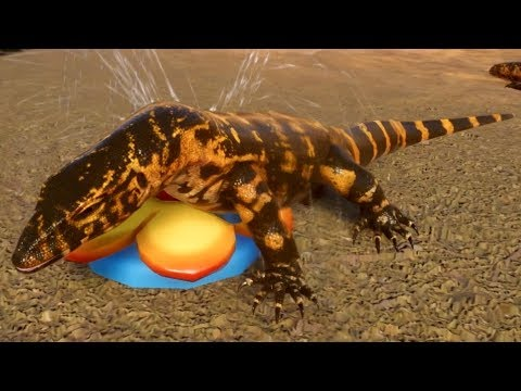 Planet Zoo - Nile Monitor Gameplay (PC HD) [1080p60FPS] |