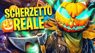 REALE SCHERZETTO! DEVASTO TUTTI CON THE SKIN DI HALLOWEEN! Fortnite Battle Royale