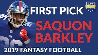 Saquon Barkley: Locked-In 2019 RB Superstar