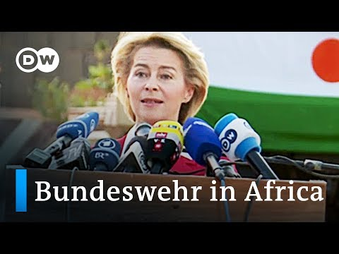 German military in Africa: Defense Secretary Van der Leyen visits Niger | DW News