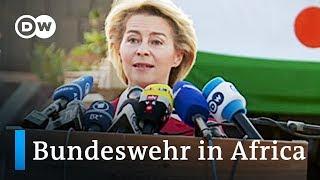 German military in Africa: Defense Secretary Van der Leyen visits Niger | DW News