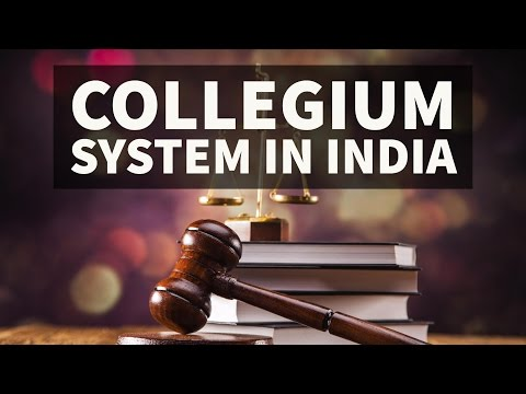 Appointment of judges in India vs USA - Collegium system - NJAC - UPSC/IAS/PCS
