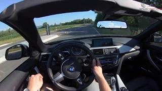 BMW 425D CABRIO 224PS TEST DRIVE POV by BadenmotorsTV