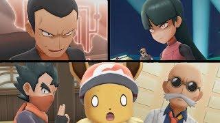 Pokemon Lets Go Eevee/Pikachu! - VS Gym Leaders: Koga, Sabrina, Blaine and Giovanni