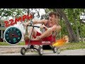 Motorized Red Wagon//FAST AS F***