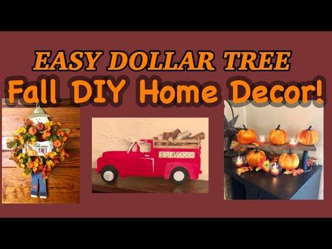 Easy Fall Home Decor For Fall Diy S Dollar Tree Diy News Art Travel Design Technology