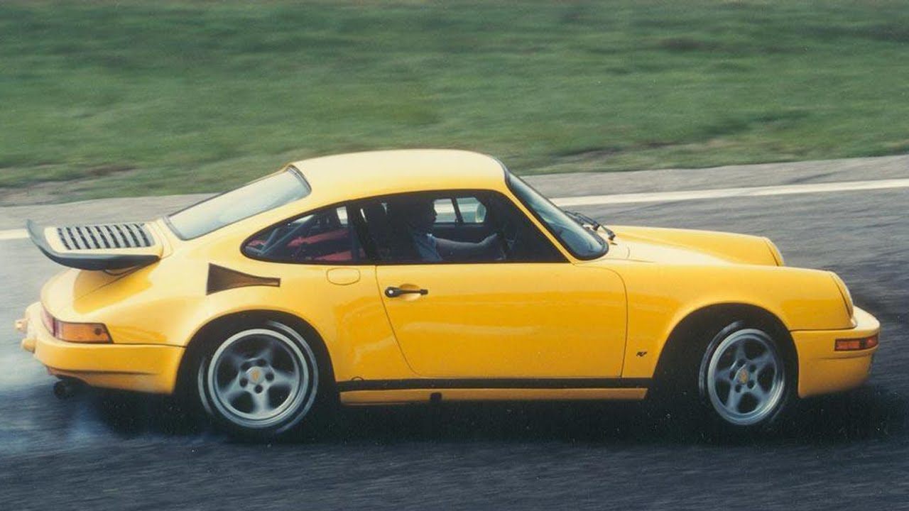 Faszination On The N 252 Rburgring The Ruf Ctr Quot Yellowbird
