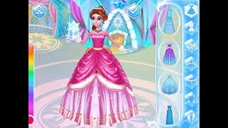 Best Games for Kids - Coco Ice Princess iPad Gameplay HD Frozen Princess Makeup and Dress up Games