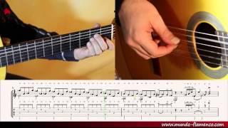Flamenco Lessons, Soleáres Part 2 - slow version