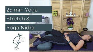 Yoga Stretch and Yoga Nidra for Insomnia