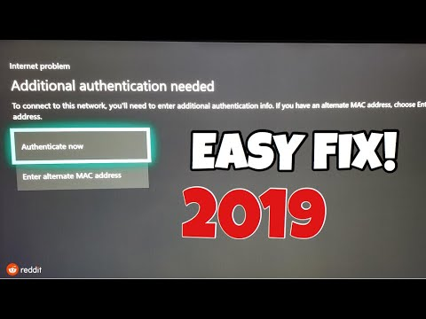 'Additional Authentication Needed' Easy Fix! {2019}