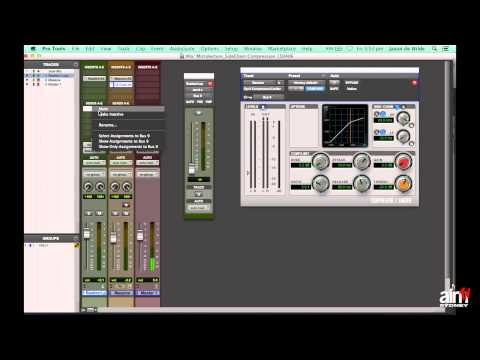 Pro Tools Tutorial – Side Chain Compression