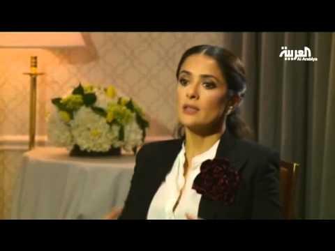 """#سلمى_حايك تكشف لـ""""العربية"""" أسرار زيارتها لبنان"""