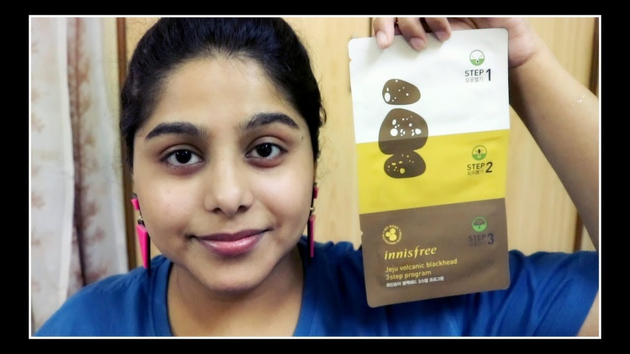 How to remove blackheads at home innisfree jeju volcanic how to remove blackheads at home innisfree jeju volcanic blackhead 3 step sheet review sciox Choice Image