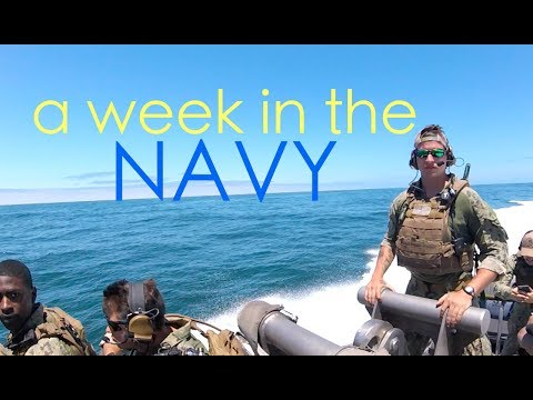 A WEEK IN THE US NAVY | OUR GIRLFRIENDS