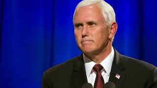 Pence visits wounded military service members
