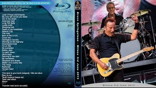 Bruce Springsteen - American land - Milano - San Siro 3.6.2013