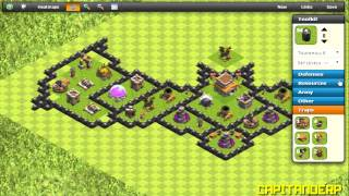 Clash of Clans Ita - Best Town Hall 8 Batman Base Speed Build [2015]