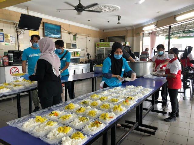 CERIA MALAYSIA : AL-I'TISAM KITCHEN COVID-19
