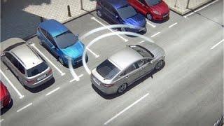 Как парковаться в автоматическом режиме [автопарковщик(Ford)]? (Я и Авто)(Новый Ford Mondeo с ассистентом парковки отвечает на этот вопрос. Сперва параллельная парковка, а после перпенд..., 2015-08-01T21:17:09.000Z)