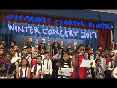 Open Magnet Charter School Winter Concert 2017