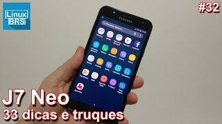 Samsung Galaxy J7 Neo - 33 Dicas  e truques