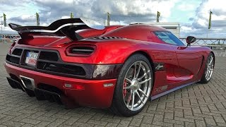 1400HP Koenigsegg Agera R in Action on Track!