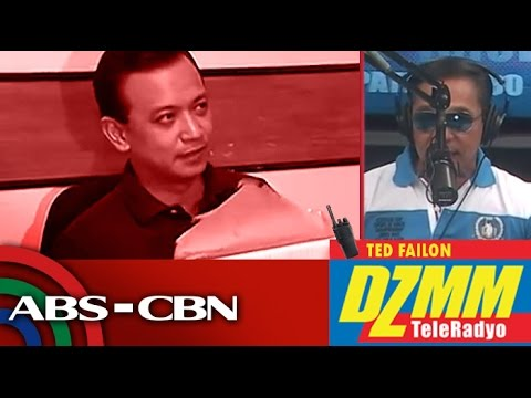 DZMM TeleRadyo: Trillanes blasts Duterte for setting conditions for bank waiver