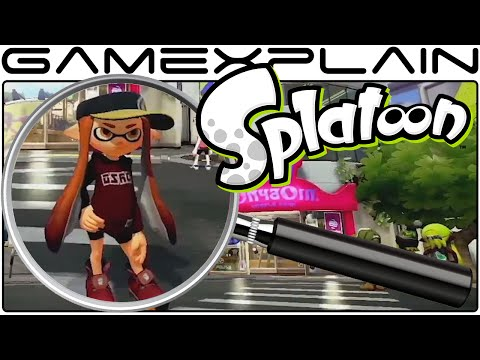 Splatoon Analysis - Nintendo Direct Plaza Gameplay (Secrets & Hidden Details) from YouTube · Duration:  18 minutes 32 seconds