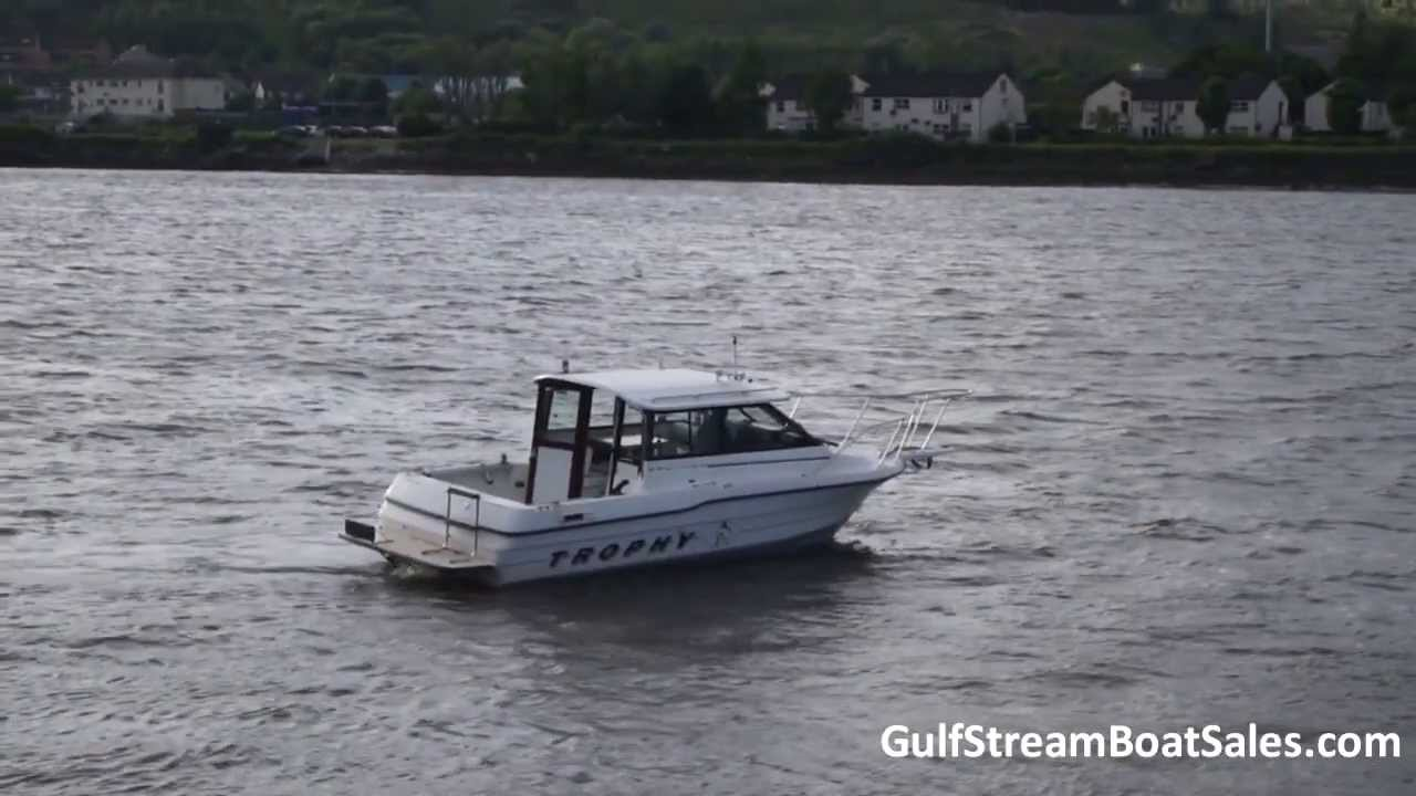 Bayliner Trophy 2159 For Sale -- Water Test and Walk Through by GulfStream  Boat Sales