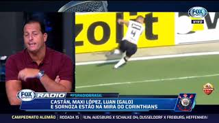 FOX SPORT RÁDIO》Corinthians quer maxi López,Luan,sornoza e juan Escobar p/2019. 11/12/2018