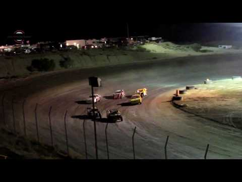 Desert Thunder Raceway Sport Mod/Stock Car Old Timers Race  9/29/18