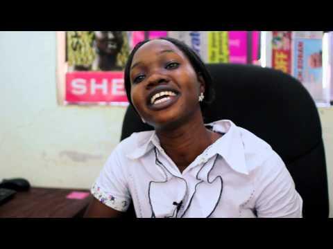 SHE, a glossy magazine in South Sudan