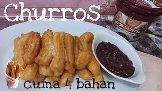 Resep dan Cara Membuat Churros Saus Coklat  Churros Recipe
