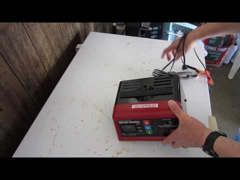 Harbor Freight Battery Charger Electrolysis Hack 60653 60581 Centech Part 1