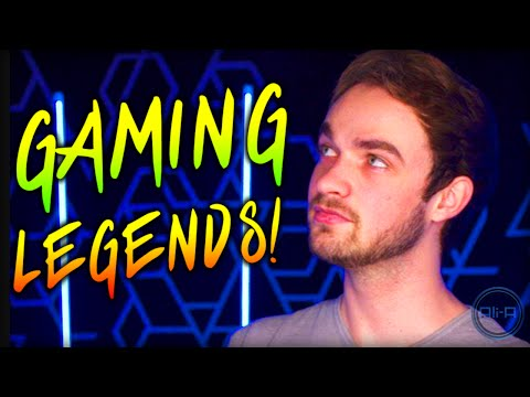 NEW GAMING w/ LEGENDS!