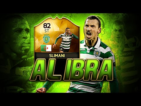 TIF ISLAM SLIMANI THE ALGERIAN IBRA! FIFA 16 ULTIMATE TEAM