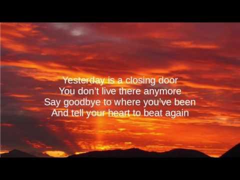 Danny Gokey - Tell Your Heart To Beat Again (lyric video) & Danny Gokey - Tell Your Heart To Beat Again (lyric video) - YouTube