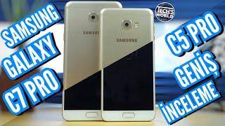 Samsung Galaxy C5 Pro Ve C7 Pro Geniş İnceleme
