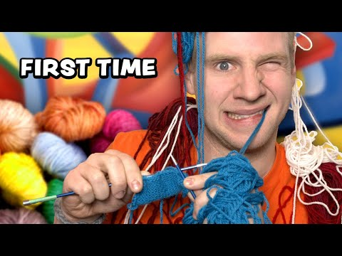 Can I Learn to KNIT in 1 DAY?